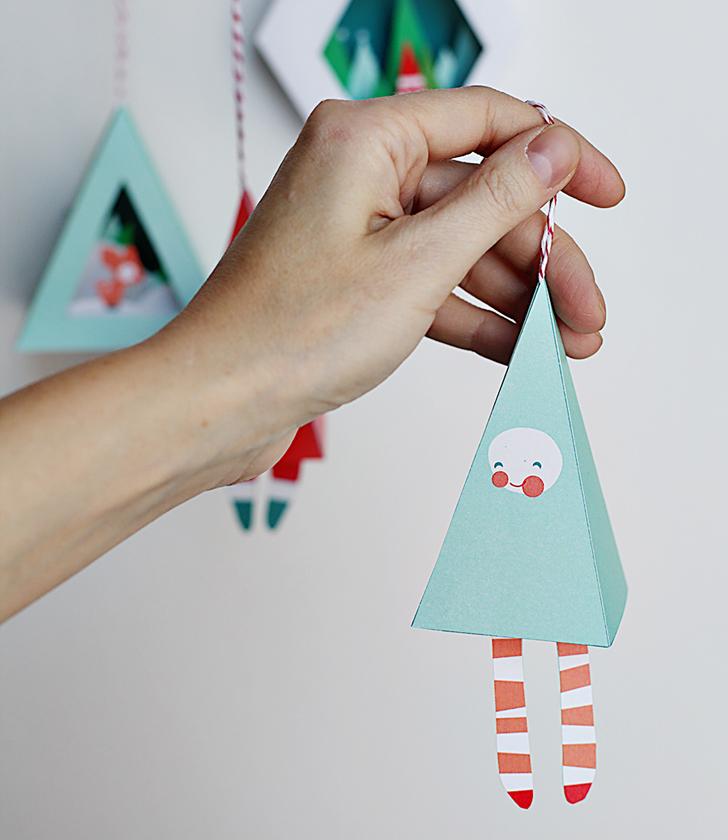 Manualidades infantiles de navidad for Decoracion navidena diy