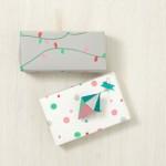 DIY: Papel personalizado a mano para envolver los regalos de Navidad