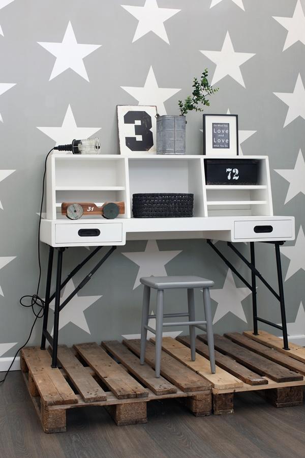 papel-pintados-estrellas-gris