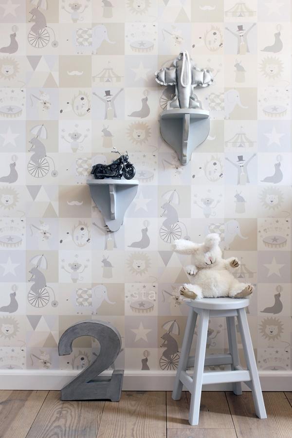 Papeles pintados para habitaciones infantiles - Papeles infantiles para paredes ...