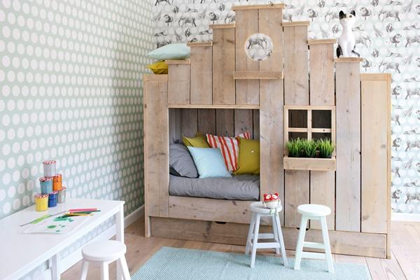 las paredes ms cool para el dormitorio de los peques nios