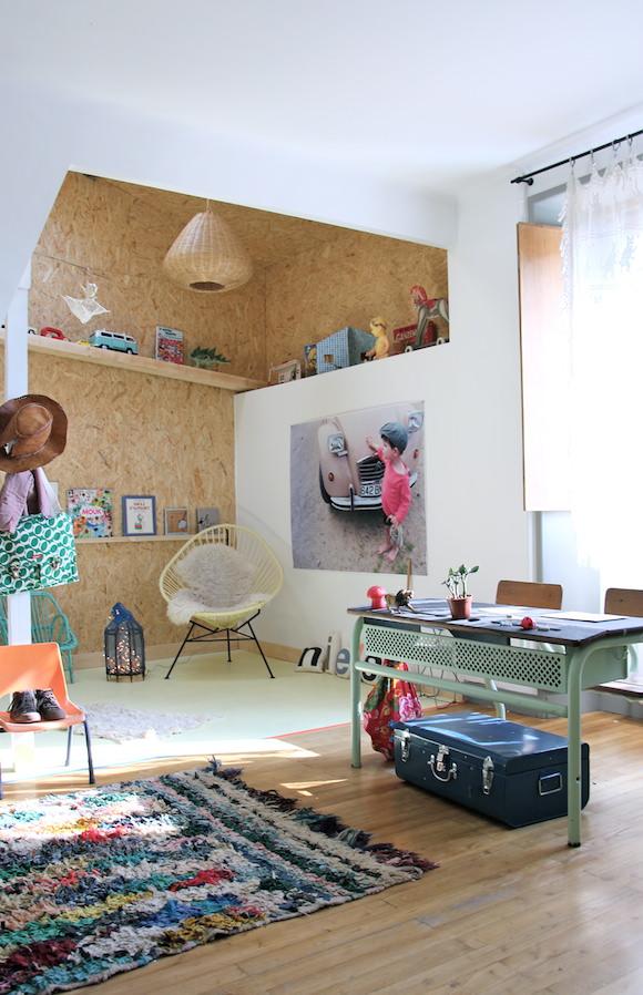 Habitacion-estudio-vintage-niños