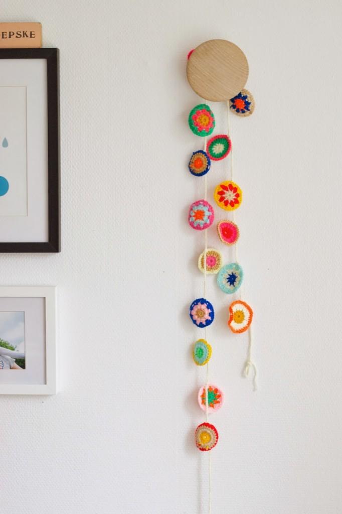 Decora la habitaci n de los ni os con crochet decopeques - Manualidades para la habitacion ...