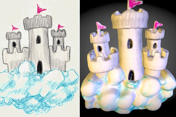 dibujos-3d-castillo