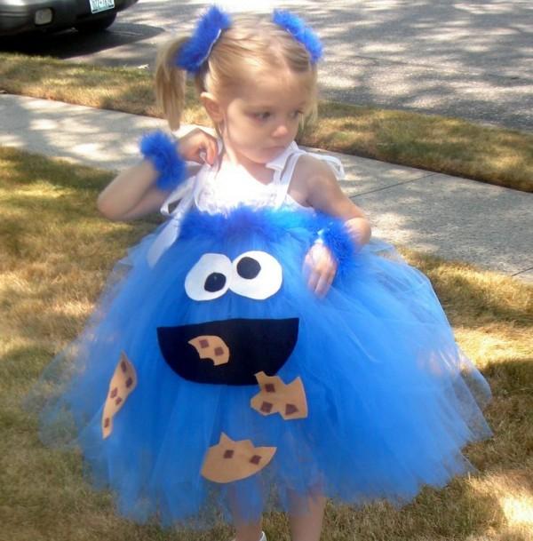 disfraz niña tul-monstruo-galletas