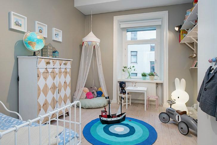 dormitorio-para-niños-nordico