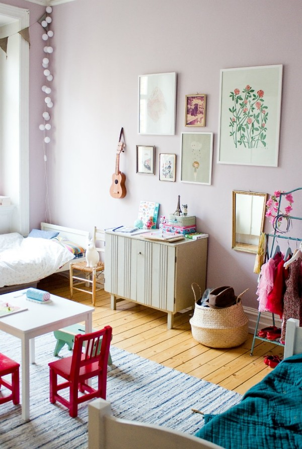 habitacion-pared-lila