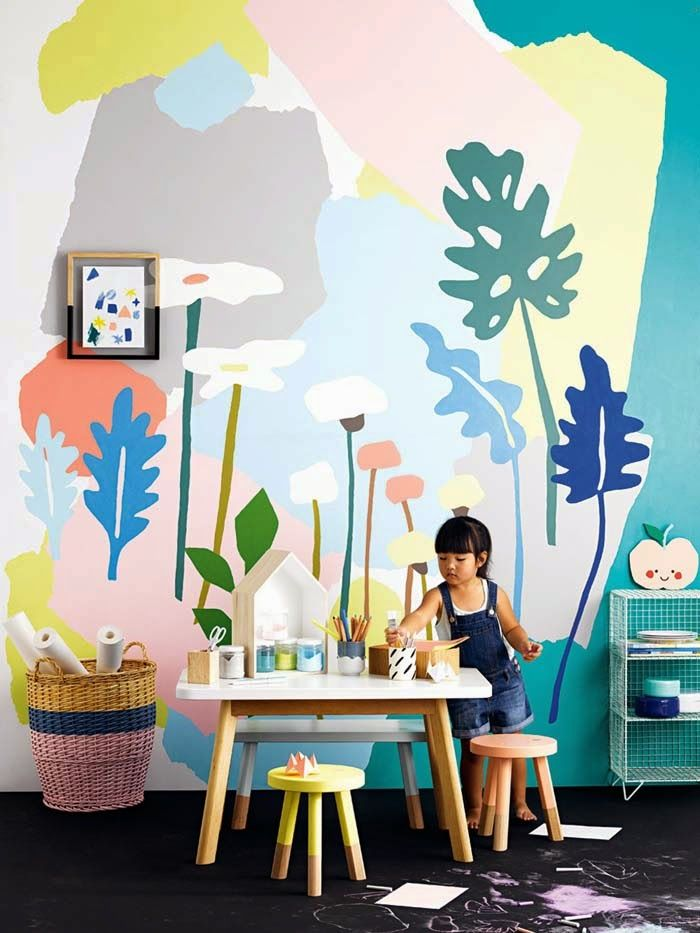Murales infantiles decopeques for Murales para pared