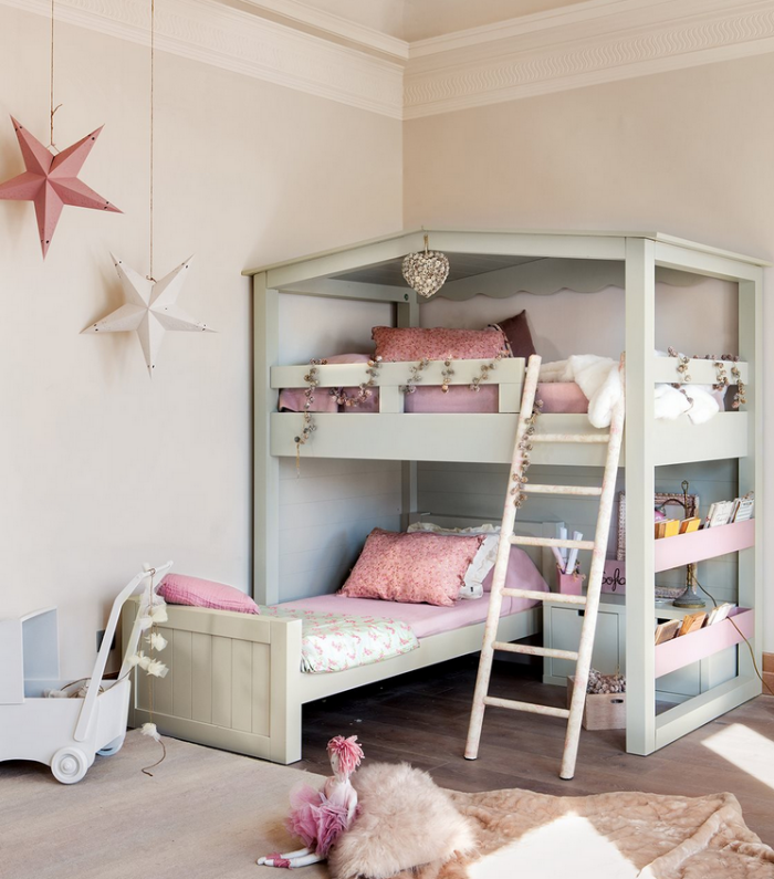 dormitorios compartidos como orientar las camas de los ni os decopeques. Black Bedroom Furniture Sets. Home Design Ideas
