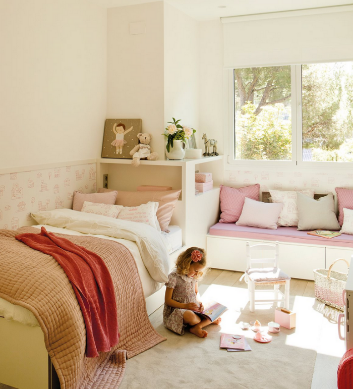 Dormitorios compartidos como orientar las camas de los ni os decopeques - Camas con tobogan para ninos ...