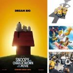 29 Películas para Niños. Estrenos infantiles en 2015