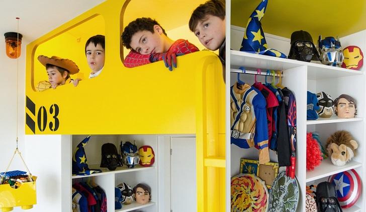 dormitorio-infantil-disfraces