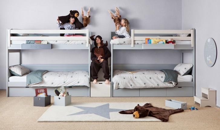 Muebles infantiles y juveniles originales camas para - Camas dobles infantiles para espacios reducidos ...