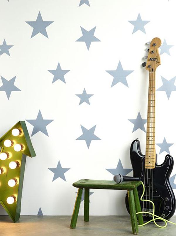 Nuevos papeles pintados de hibou home for Papel pintado estrellas