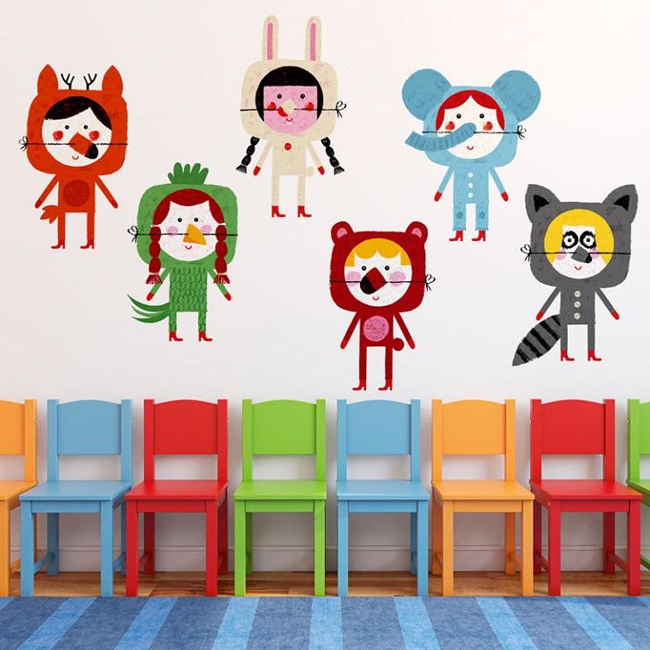 vinilos-infantiles-chispum-animals