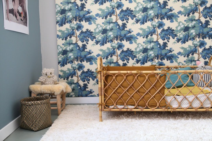 Tendencias deco 6 decoraciones infantiles de paredes xl for Decoracion habitacion bebe papel pintado