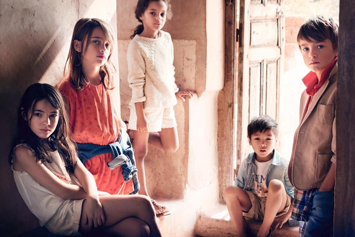 Massimo Dutti primavera 2015 para niños con estilo