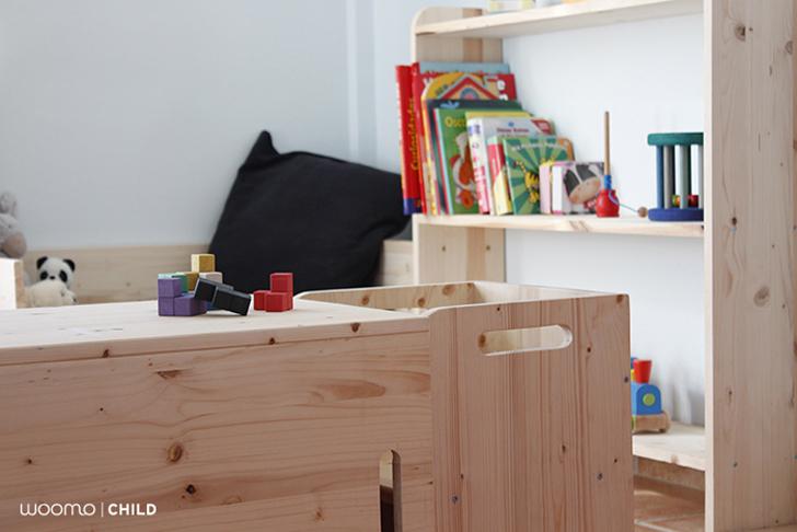 Muebles infantiles ecol gicos de woomo for Muebles infantiles diseno