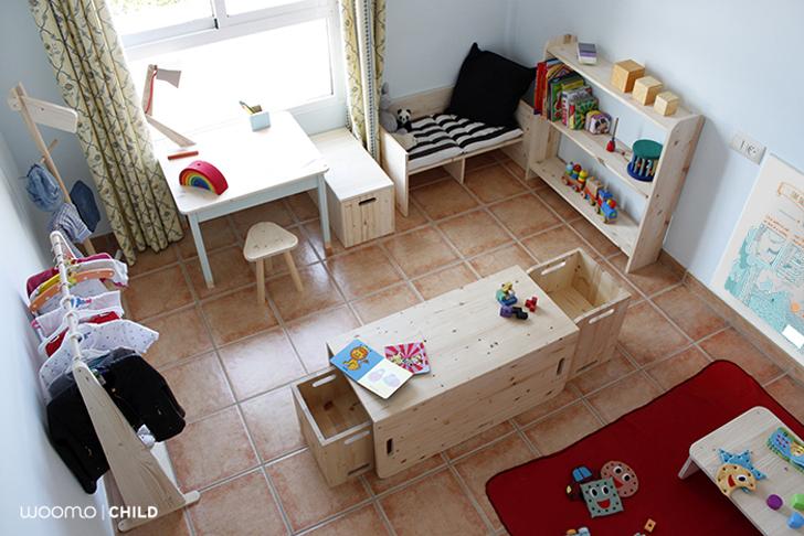Muebles infantiles ecológicos de Woomo