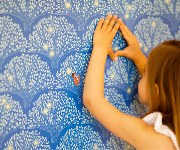 papel-pintado-luciernagas