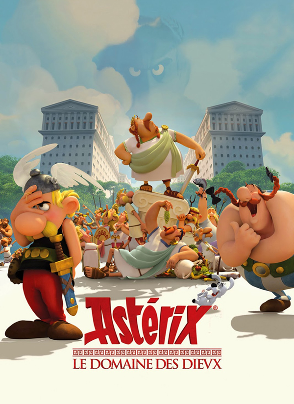 Cine para Niños… Astérix: La residencia de los dioses