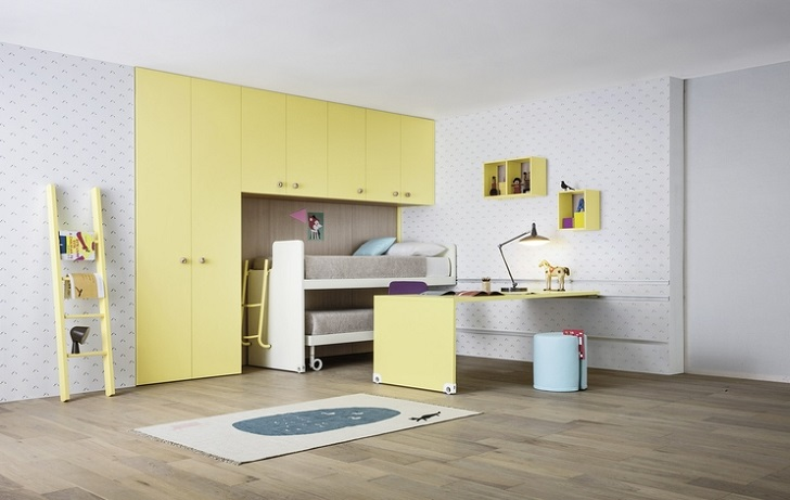 Habitaciones juveniles y muebles modulares infantiles for Bianchi muebles