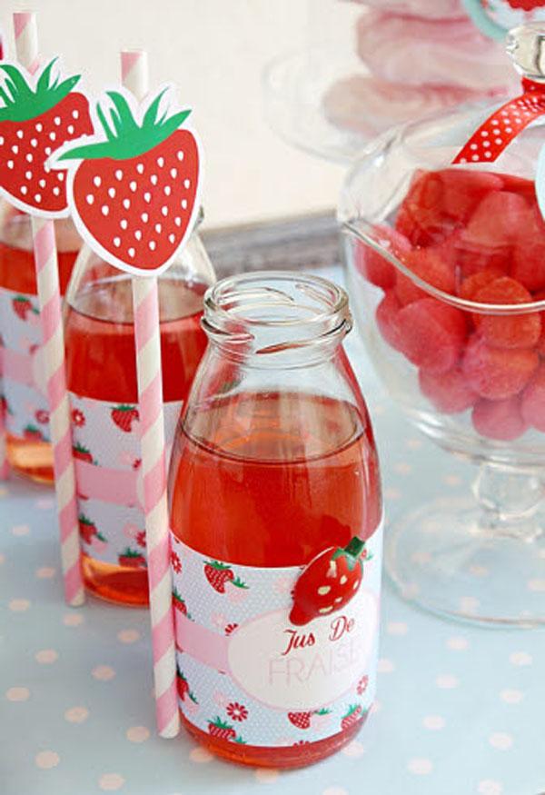 bebidas-de fresa