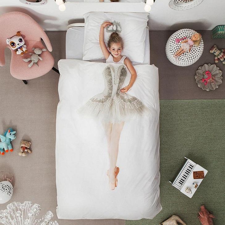 ropa-de-cama-infantil-bailarina