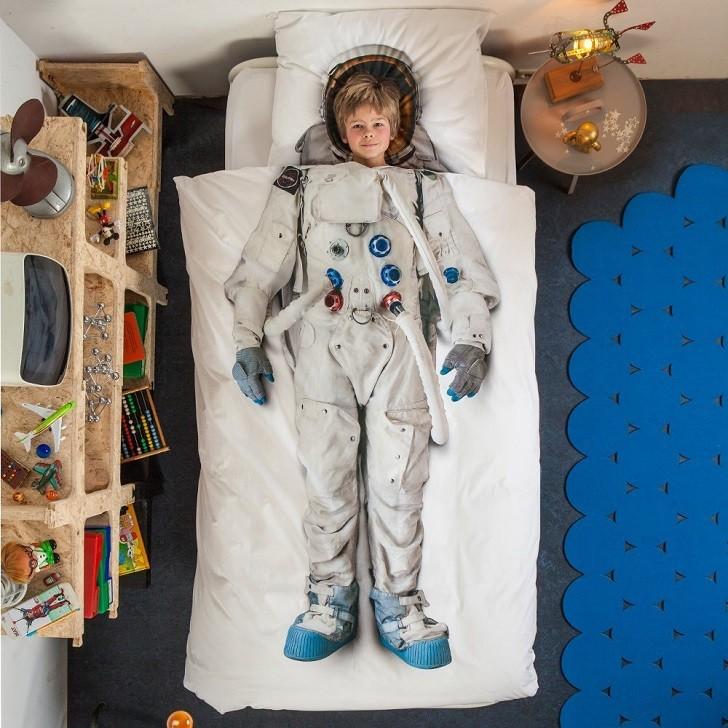 ropa-de-cama-infatil-astronauta