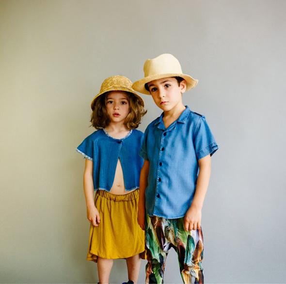 Moda infantil… El verano del denim