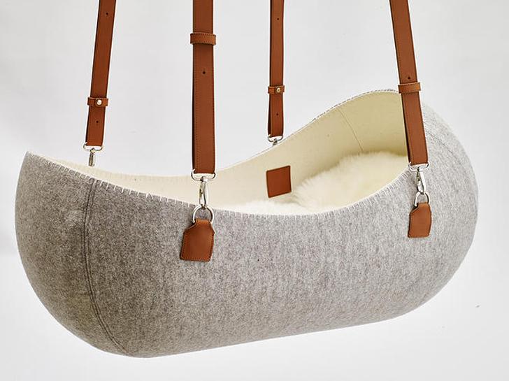 Little Nest, la cuna de diseño que calma al bebé