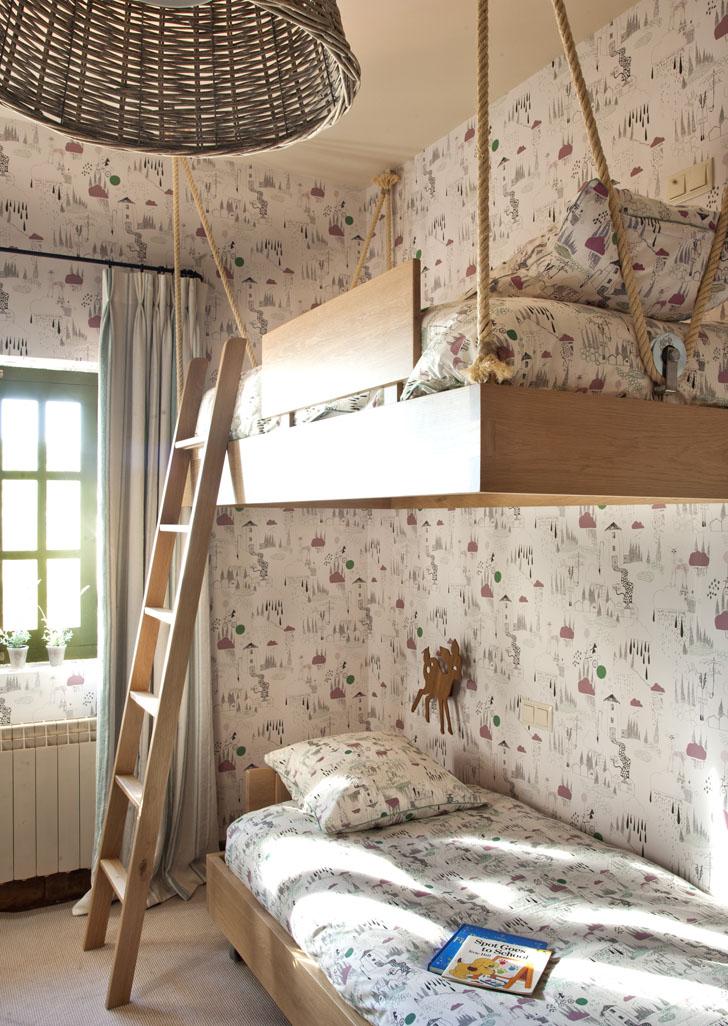 Dormitorio infantil para 3 hermanos
