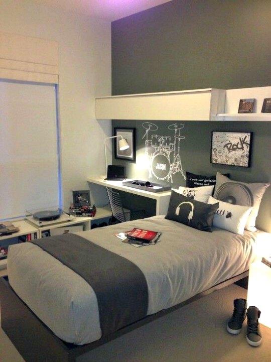 10 fotos de habitaciones juveniles para chicos decopeques - Habitacion juvenil chico ...