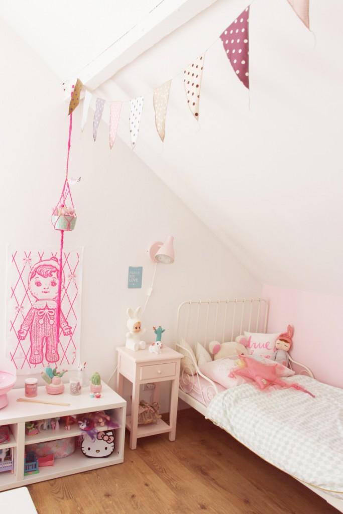 habitacion-rosa-niña-bonita-fotos