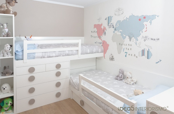 Ideas para decorar habitaciones infantiles decopeques for Ideas decoracion habitacion