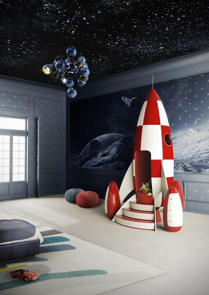 Muebles increíbles para niños: la silla cohete