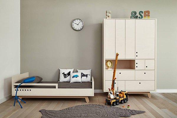 Muebles infantiles con dise o simple decopeques for Muebles y camas infantiles
