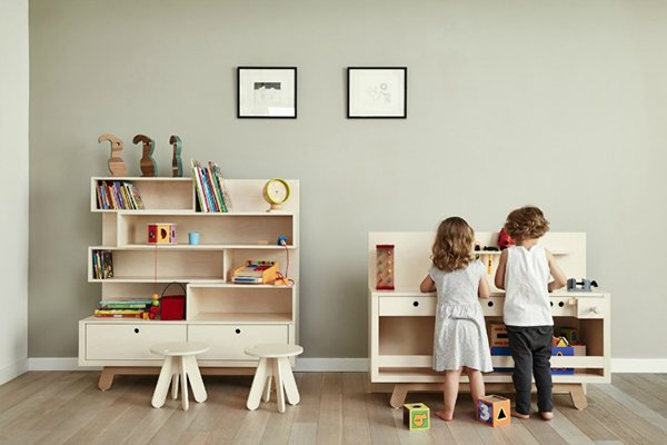 Muebles infantiles con dise o simple decopeques - Tiradores para muebles infantiles ...