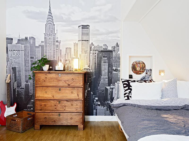 10 fotos de habitaciones juveniles para chicos decopeques for Mesillas de habitacion