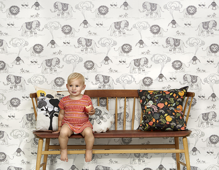 papel-pintado-infantil-elefantes