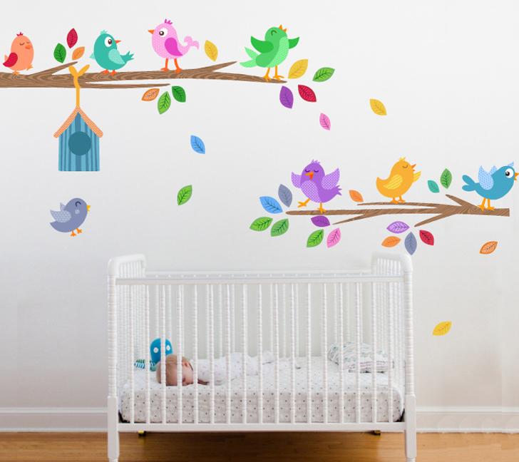 Vinilos infantiles para el cuarto del beb for Vinilos infantiles con nombre baratos