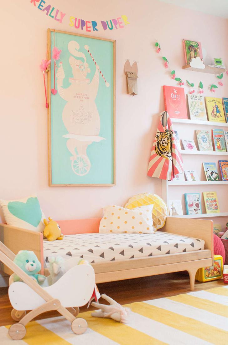 inspiradora habitacin en tonos pastel