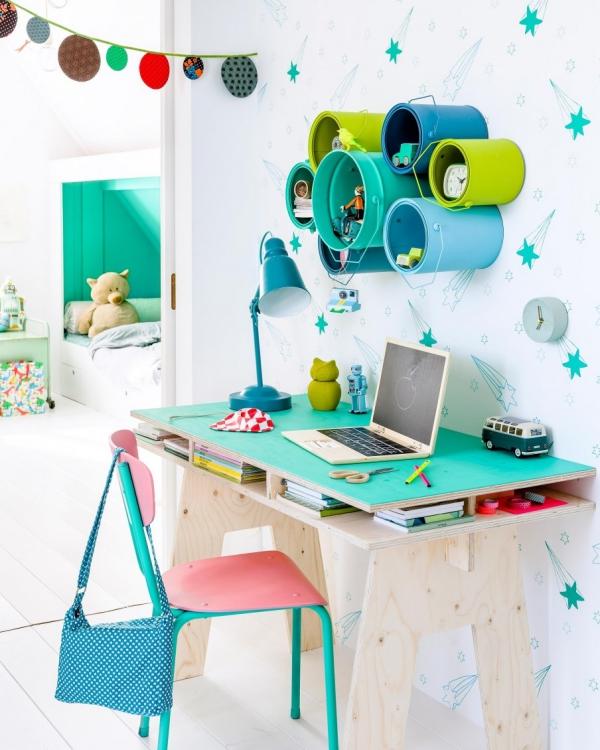 Renovar el dormitorio infantil para el nuevo curso - Dormitorio infantil original ...