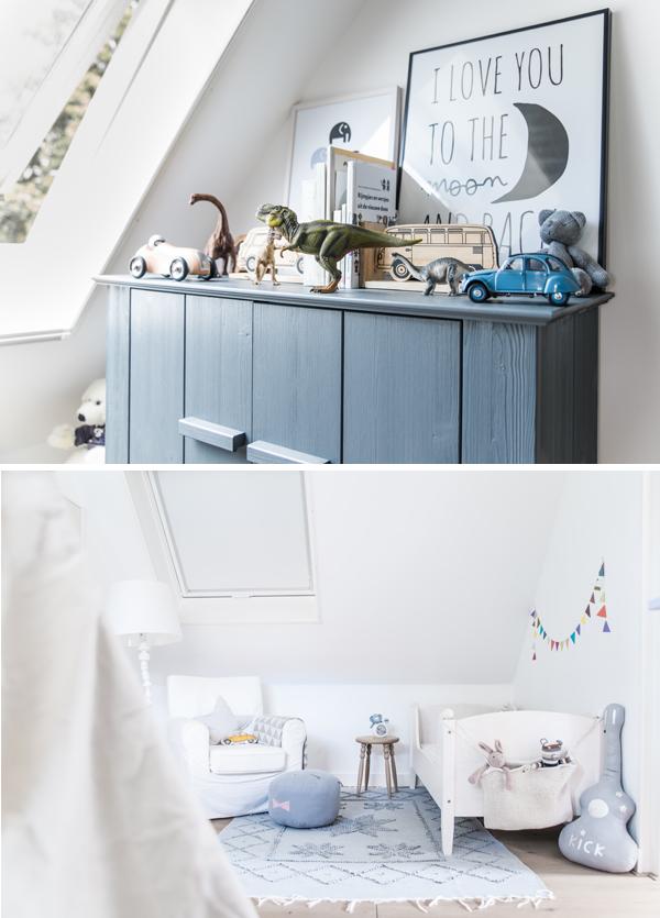 Espacios infantiles en estilo n rdico for Habitacion infantil estilo nordico