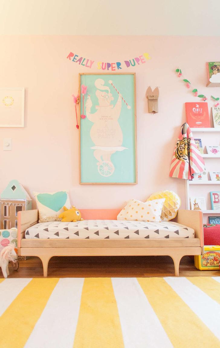 Habitaci n infantil en colores pastel - Letras para habitaciones infantiles ...