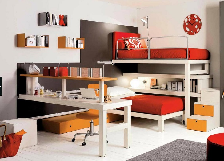 Dormitorios infantiles de roche bobois for Dormitorios infantiles de diseno