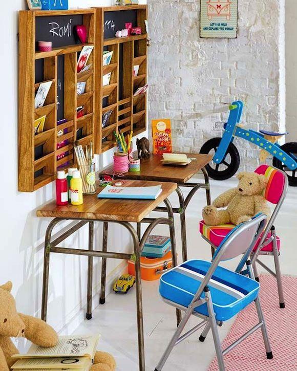 mesas de estudio bonitas y diferentes para el cuarto de los nios