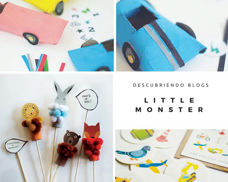 Descubriendo blogs… Actividades infantiles de Little monster