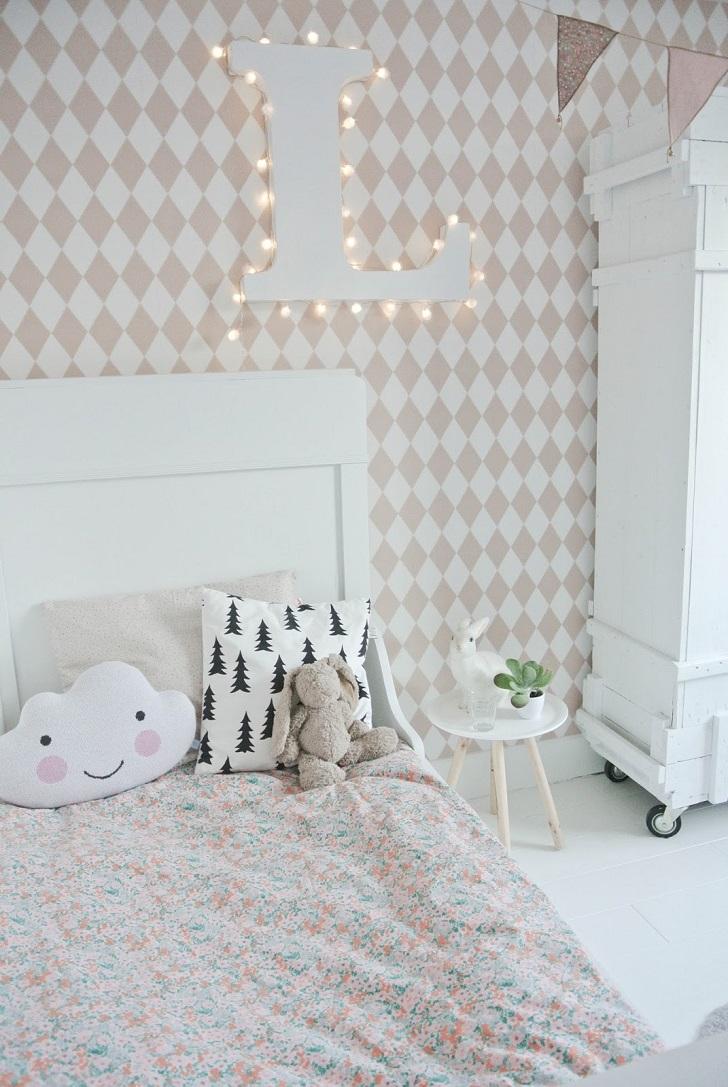 Dormitorio infantil en estilo n rdico para lola for Dormitorio infantil nordico