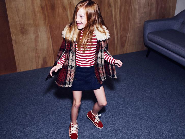 Colección de otoño en moda infantil Zara Kids